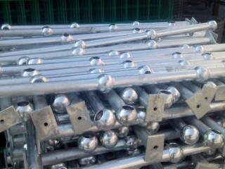 球形连接立柱栏杆